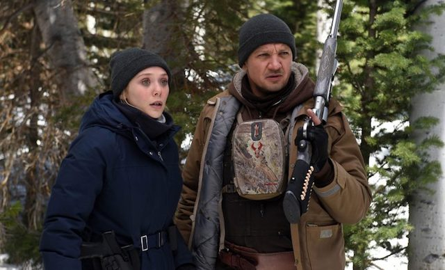 Elizabeth Olsen and Jeremy Renner in Wind River — twincities.com